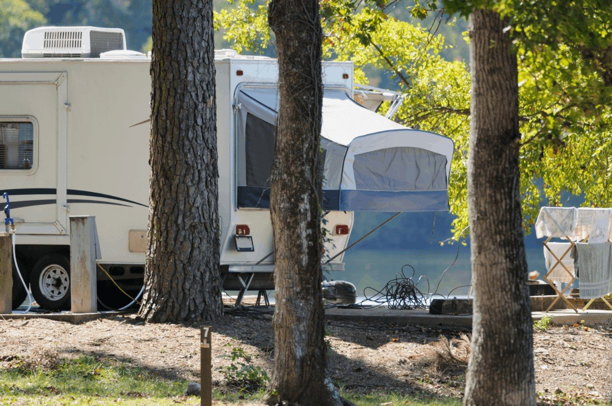 Coleman pop up campers with bathrooms