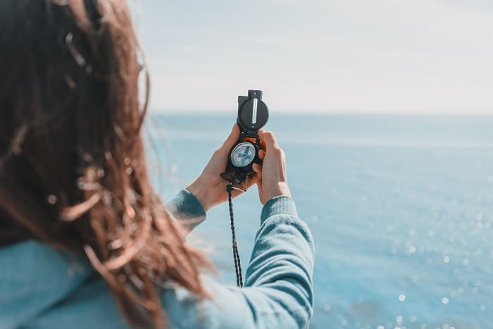 How to Read a Lensatic Compass