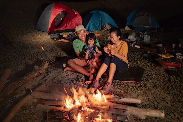 Campfire Games for Families