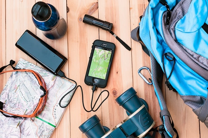 Choosing portable power sources for camping