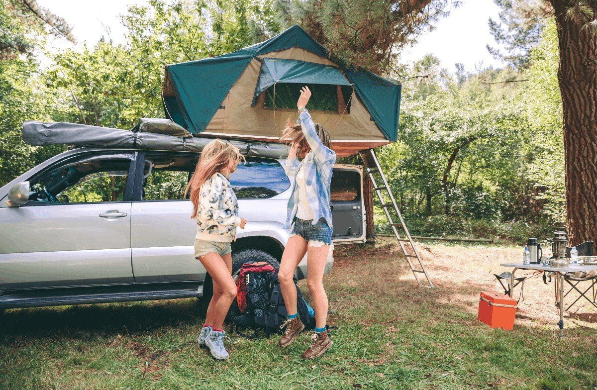 How to make your own suv tent