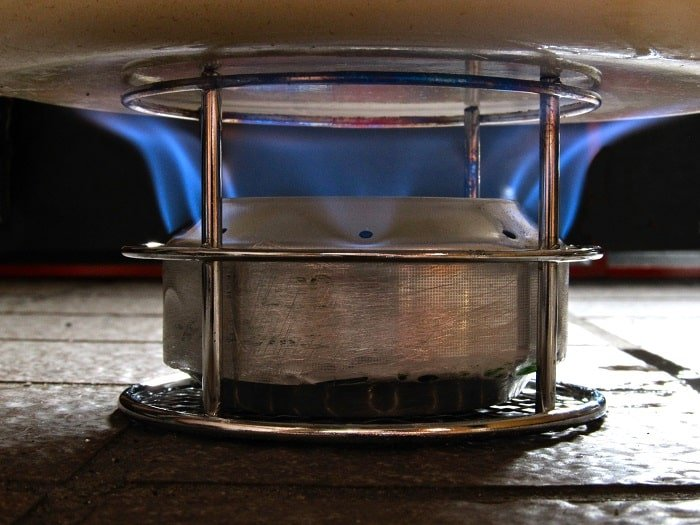 Types of lightweight cooking stove